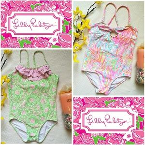Pre-loved Lilly Pulitzer swimsuit bundle Size 4